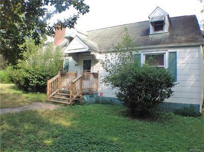 Richmond Single Family Home For Sale: 3201 Watson Avenue