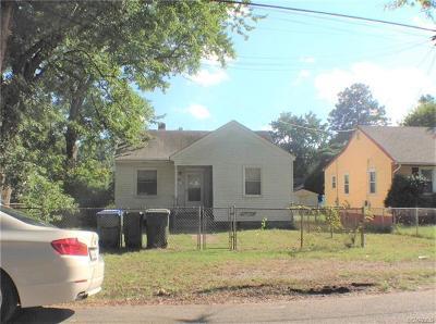 Richmond Single Family Home For Sale: 2202 Wright Avenue