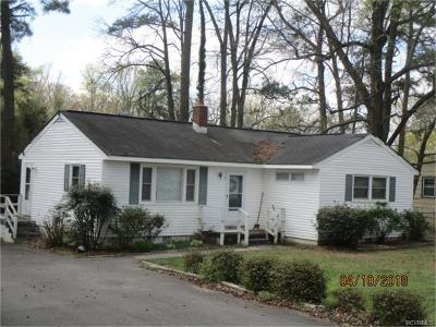 Hopewell Single Family Home For Sale: 3704 Jackson Farm Road