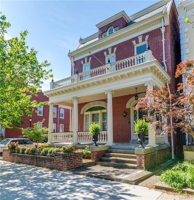 Richmond Single Family Home For Sale: 2701 Hanover Avenue