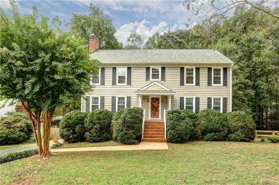 Henrico Single Family Home For Sale: 9519 Heather Spring Drive