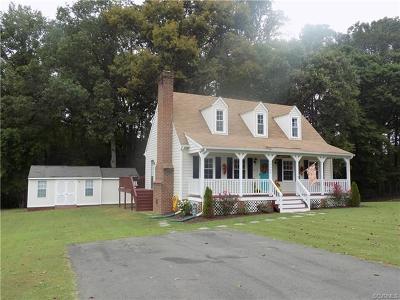 Dinwiddie Single Family Home For Sale: 18304 Bonneville Lane