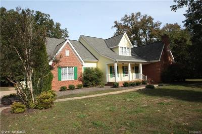 Powhatan Single Family Home For Sale: 3079 St Marys Way