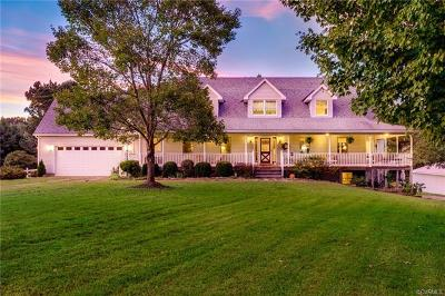 Amelia County Single Family Home For Sale: 17236 Genito Road