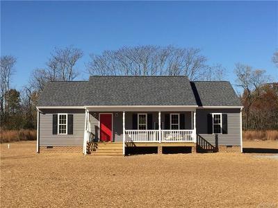 King William Single Family Home For Sale: 00 Pamunkey Ridge