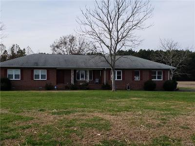King William County Single Family Home For Sale: 5034 Powhatan Trail