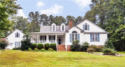 Amelia County Single Family Home For Sale: 12550 Loblolly Drive