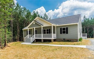 New Kent Single Family Home For Sale: 8731 Rock Cedar Road