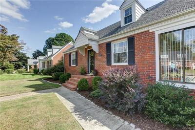 Richmond Single Family Home For Sale: 2119 New Berne Road