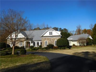 Chesterfield Single Family Home For Sale: 12200 Iron Forge Drive