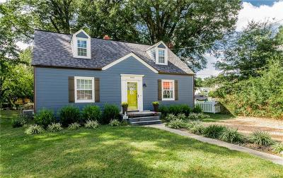 Petersburg Single Family Home For Sale: 1810 Varina Avenue