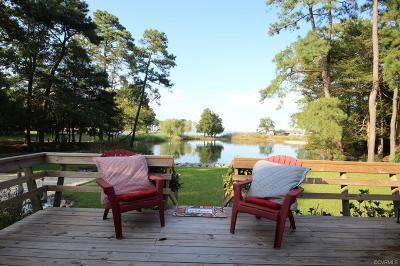 Deltaville Single Family Home For Sale: 921 Timberneck Road
