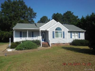 Dinwiddie County Single Family Home For Sale: 4404 Woodstream Drive