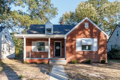 Richmond Single Family Home For Sale: 3011 Napoleon Street