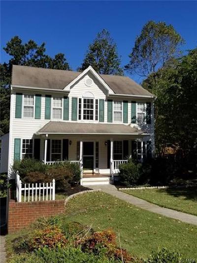 Chester VA Single Family Home For Sale: $254,900