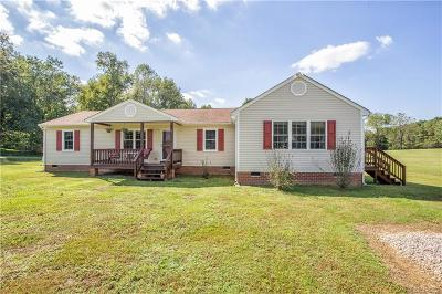 Hopewell Single Family Home For Sale: 5400 Heritage Road
