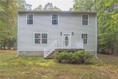 Goochland Single Family Home For Sale: 2875 Sugarbottom Road