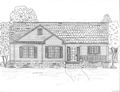 Aylett Single Family Home For Sale: 00 Oak Ridge Court