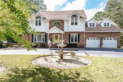 Chesterfield Single Family Home For Sale: 100 Swift Creek Lane
