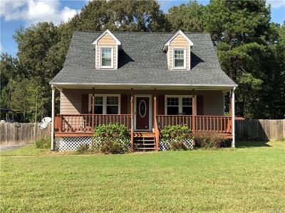 Dinwiddie County Single Family Home For Sale: 24014 Bancroft Drive