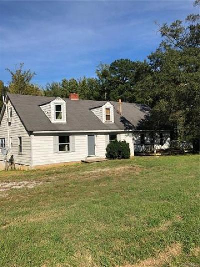 Powhatan Single Family Home For Sale: 2215 Anderson Highway