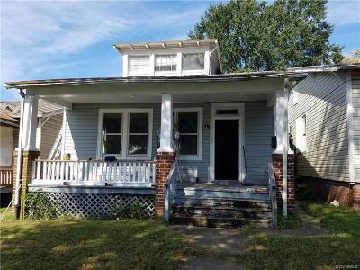 Richmond Single Family Home For Sale: 1430 North 19th Street