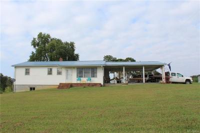 Nottoway County Single Family Home For Sale: 4437 West Creek Road