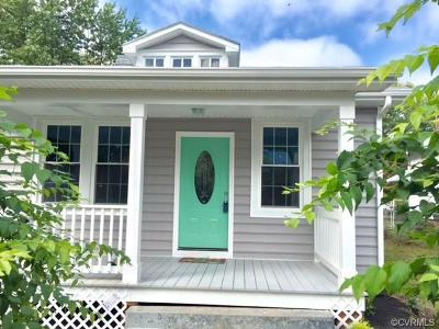 Richmond Single Family Home For Sale: 1610 North 19th Street
