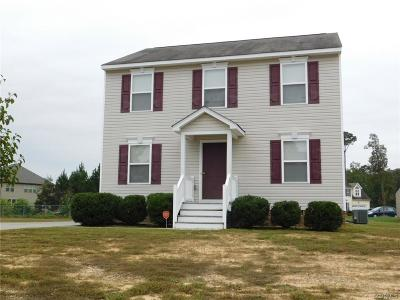 Chesterfield Single Family Home For Sale: 6019 Sailors Creek Drive