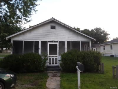 Hopewell Single Family Home For Sale: 1502 Blackstone Avenue