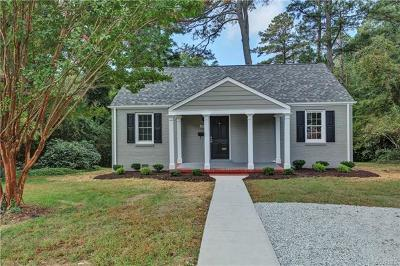 Henrico Single Family Home For Sale: 6919 Everview Road
