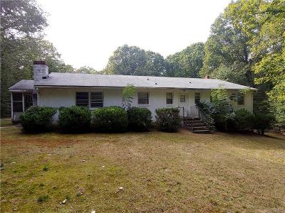 Goochland Single Family Home For Sale: 2622 Dogtown Road