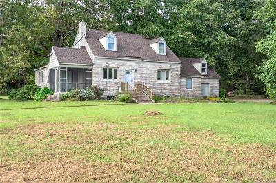 Mechanicsville Single Family Home For Sale: 8121 Walnut Grove Road