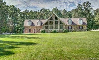 Louisa Single Family Home For Sale: 1183 Daniel Road