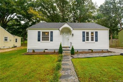 Henrico Single Family Home For Sale: 1707 Westhill Road
