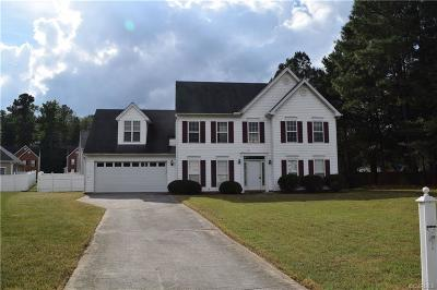 South Chesterfield Single Family Home For Sale: 16718 Amherst Ridge Court