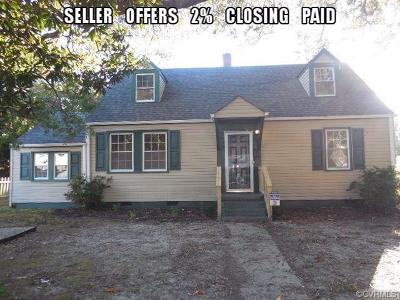 Hampton Single Family Home For Sale: 402 Seminole Road