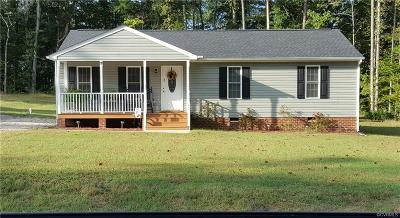 King William County Single Family Home For Sale: 0tbd Hills Fork