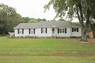 Kilmarnock Single Family Home For Sale: 4115 Bluff Point Road