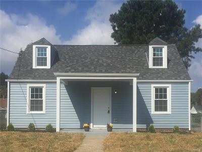 Richmond Single Family Home For Sale: 1414 North 31st Street
