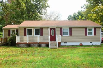 Richmond Single Family Home For Sale: 6709 Hill Road