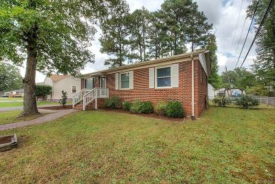 Henrico Single Family Home For Sale: 9601 Woodman Road
