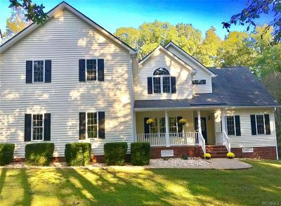 Powhatan Single Family Home For Sale: 1395 Quarter Mill Court