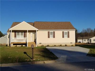 Petersburg Single Family Home For Sale: 1711 West Lane