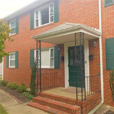 Richmond Rental For Rent: 5310 West Franklin Street #6