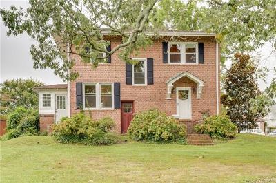 Hampton Single Family Home For Sale: 2200 Chesapeake Avenue
