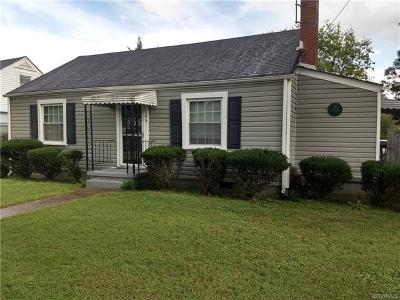 Hopewell VA Single Family Home For Sale: $89,900