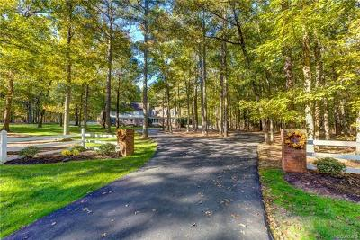 Powhatan County Single Family Home For Sale: 1411 King William Woods Road