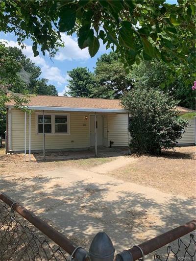 Hampton Single Family Home For Sale: 2201 Gurley Court