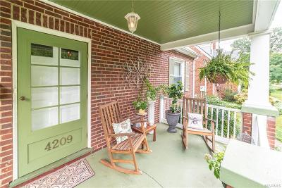 Richmond Single Family Home For Sale: 4209 Stonewall Avenue